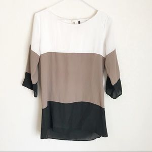 Lulu's Color Block Top, Small